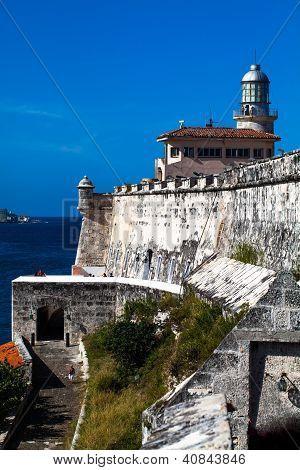 Kuba Havanna Ansicht Festung