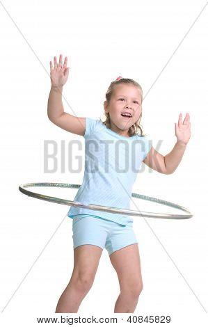 Hula hooping fun