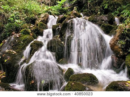 Caucasus Mountains water streams