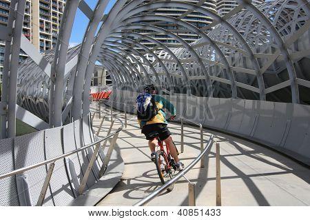Melbourne Radrennfahrer