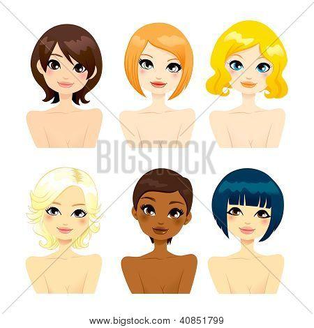 Beautiful Women Short Hair