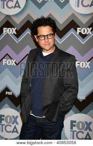 PASADENA, CA  - JAN 8:  JJ Abrams attends the FOX TV 2013 TCA Winter Press Tour at Langham Huntington Hotel on January 8, 2013 in Pasadena, CA