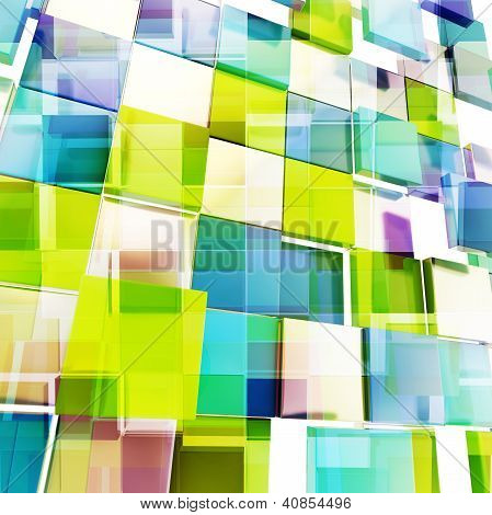 Square Block Texture Abstract Background