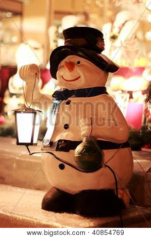Snowman - Street Decorative Light