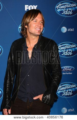 LOS ANGELES - JAN 9:  Keith Urban attends the 'American Idol' Premiere Event at Royce Hall, UCLA on January 9, 2013 in Westwood, CA