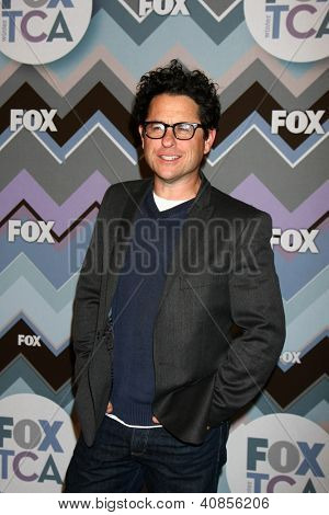 PASADENA, CA- JAN 8:  JJ Abrams attends the FOX TV 2013 TCA Winter Press Tour at Langham Huntington Hotel on January 8, 2013 in Pasadena, CA