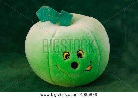 Toy Green Apple On Green