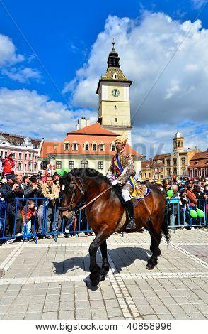 Brasov 777Th Aniversary, Juni Parade, Romania