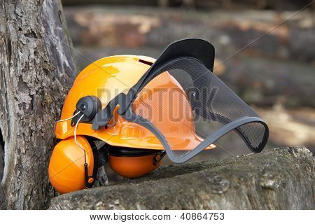 Protective Helmet Outdoor Shot