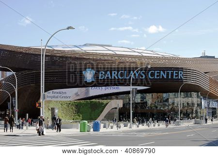 Newest sport arena Barclays center