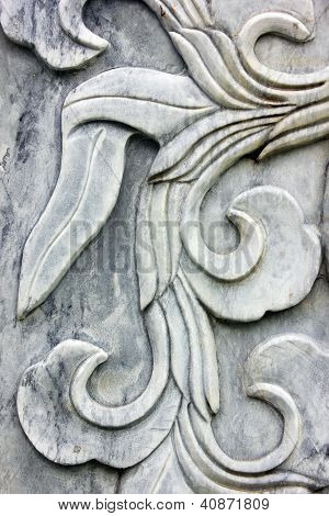 Carved Marble