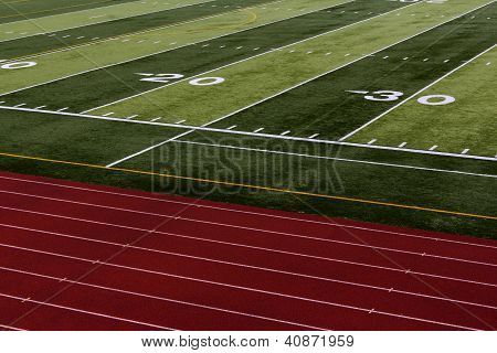 Football and track