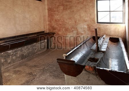 Washroom Block, Auschwitz Concentration Camp