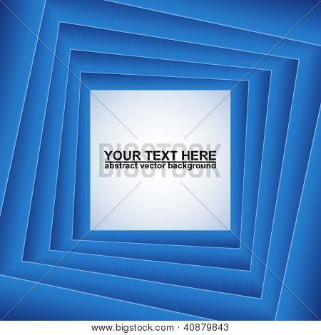 Cuadrados azules, Resumen de vectores de fondo