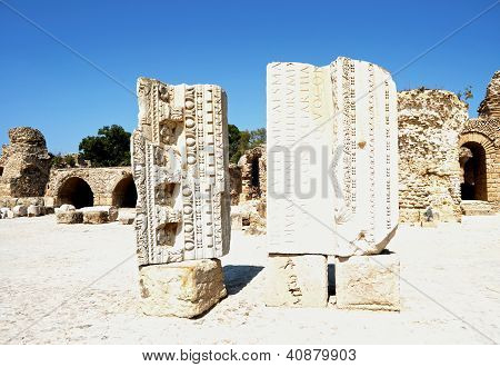 Carthage - Remains of Ancient spas