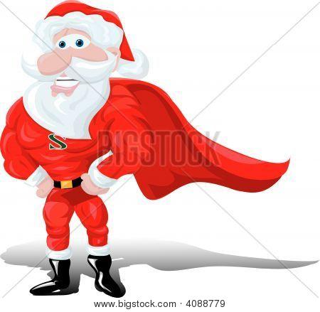 Super Hero Santa