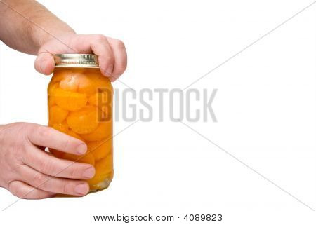 Opening A Fruit Jar