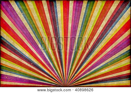 Multicolor Sunbeams Grudge Background