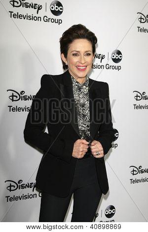 PASADENA - JAN 10: Patricia Heaton at the Disney ABC Television Group 2013 TCA Winter Press Tour at The Langham Huntington Hotel on January 10, 2013 in Pasadena, CA