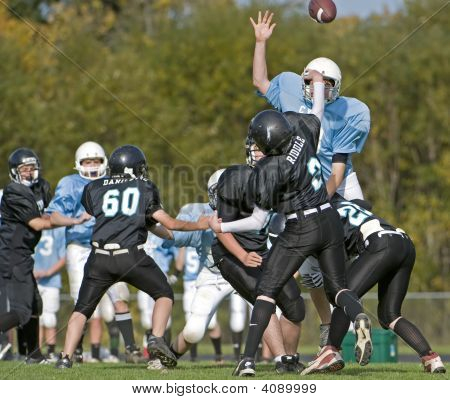 October 18 2008 Century High School youth football V Catholic Youth Organization Eagles (CYO). Final