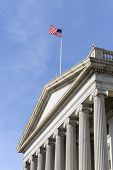 picture of treasury  - Washington DC  - JPG