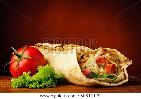 Still Life With Shawarma