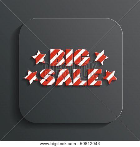 big sale sign vector