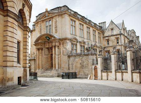 OXFORD, ENGLAND - JULY 26. Oxford University, England on July 26, 2013