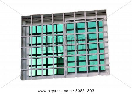 glass green Isolated