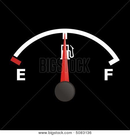 Fuel Gauge - Half
