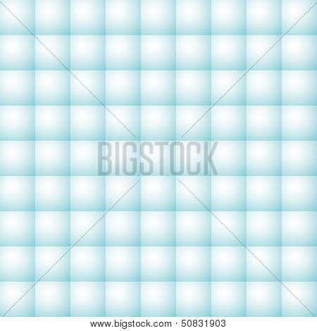 Vector Simple Seamless Geometric Blue Tiles Pattern - Abstract Background