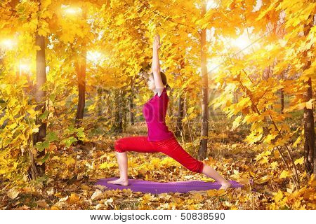 Yoga In Autumn