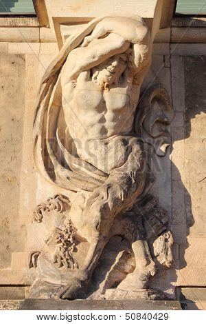 Centaur statue