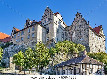 Castle In Quedlinburg, Germany