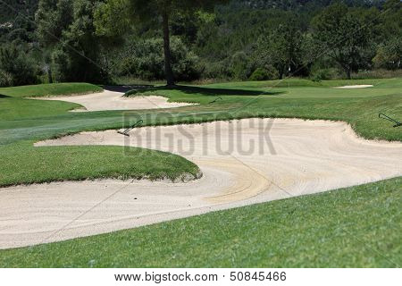 Sand Trap Or Bunker