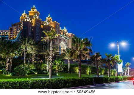 Atlantis, The Palm Hotel In Dubai, United Arab Emirates