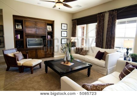 Large Executive Home Living Room Area