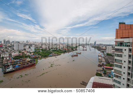 Bangkok city of river