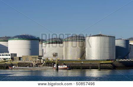 Rotterdam Harbor