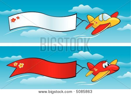 Airplanes With Banners