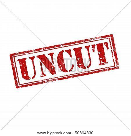 Uncut-stamp