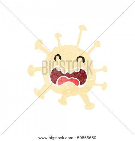 retro cartoon antibody