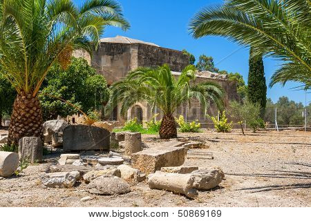 Ruin Of Gortyn. Crete, Greece