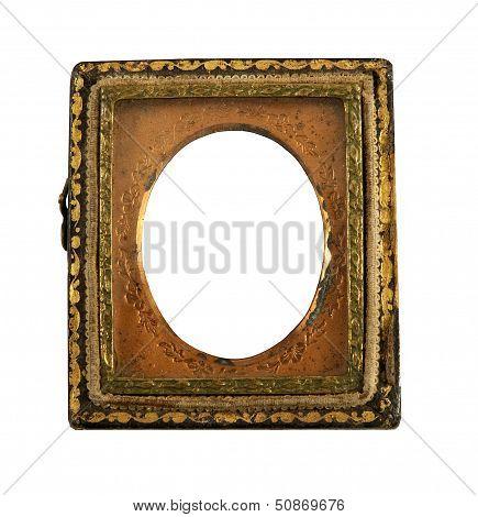 vintage Daguerreotype picture frame
