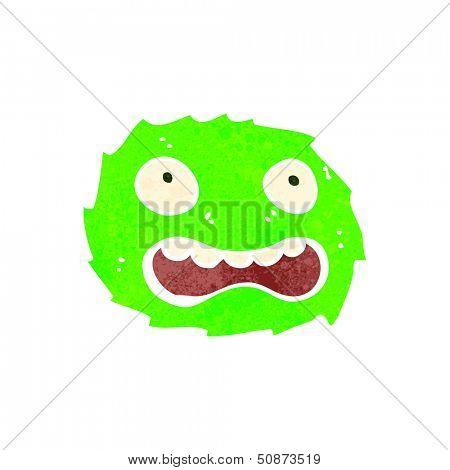 retro cartoon furball creature