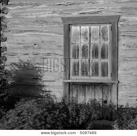 Old Cabin In B & W