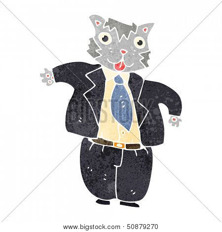 fat cat banker cartoon