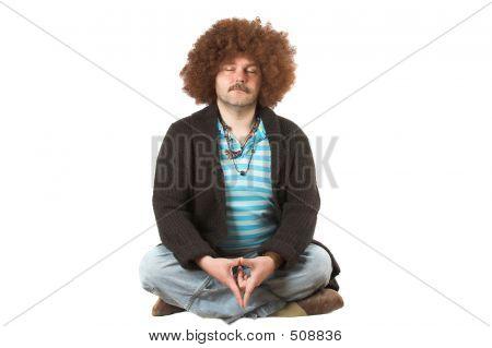 Meditieren Hippie