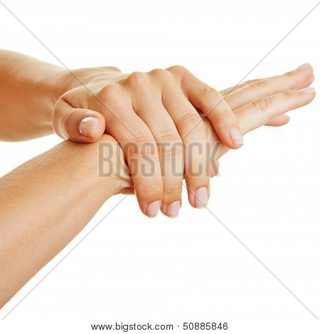 Female hands using skin lotion and moisturizer for beauty care
