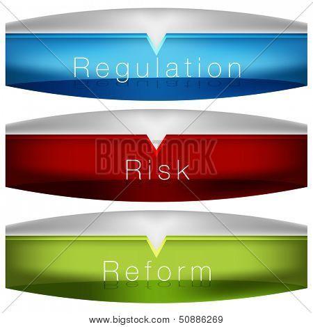 An image of a regulation risk reform chart.